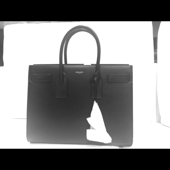 94328708dfe Yves Saint Laurent Bags | Ysl Sac De Jour Large Black Bag | Poshmark